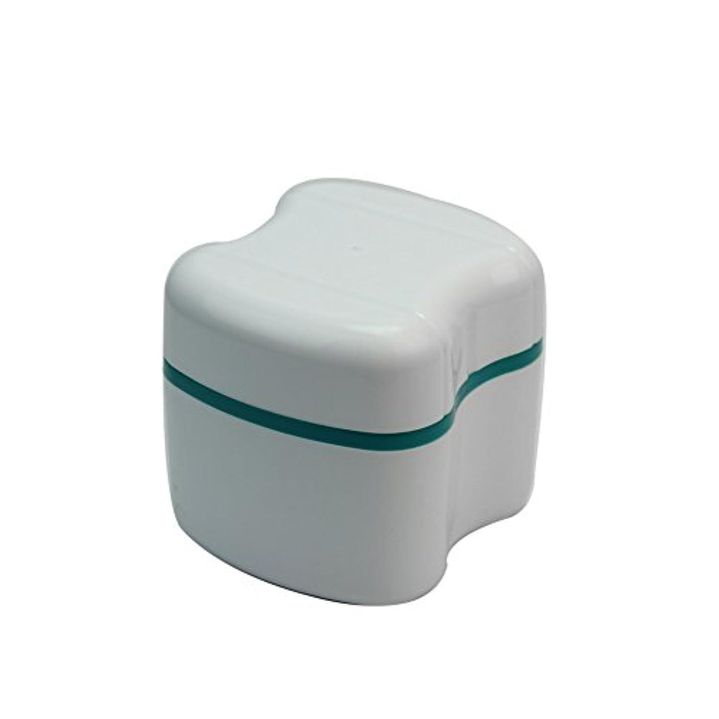 トランクライブラリ月バンジョー入れ歯ケース プラスチック製