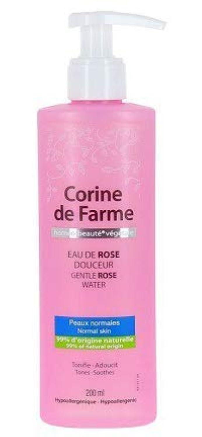 式分析する驚いたことにCorine de Farme 穏やかに水200ミリリットルをバラ