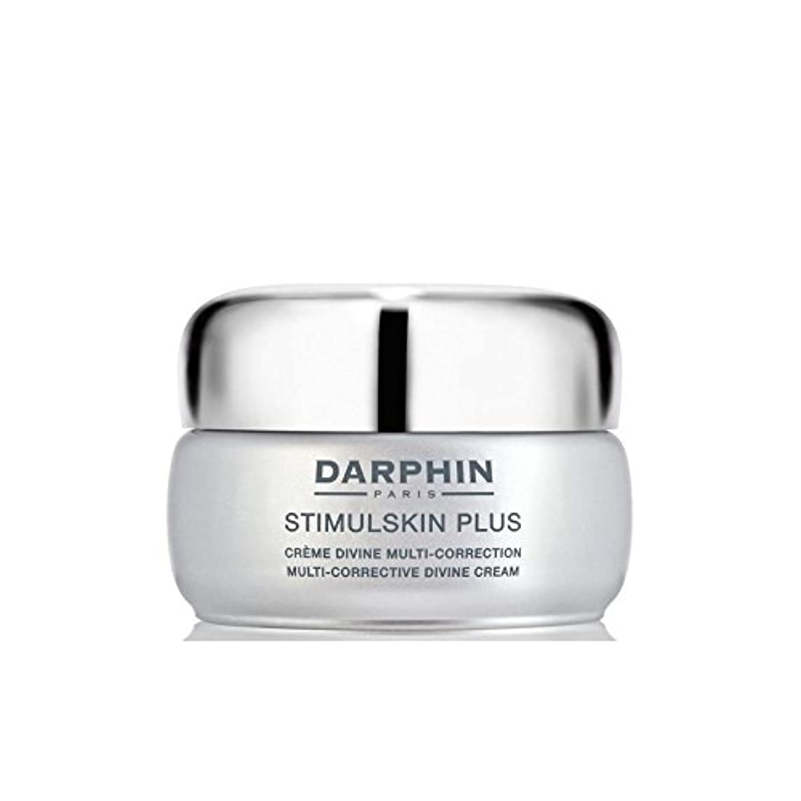 バイパス刈る水平Darphin Stimulskin Plus Multi-Corrective Divine Cream - Rich - ダルファンスティプラスマルチ是正神クリーム - 豊富 [並行輸入品]