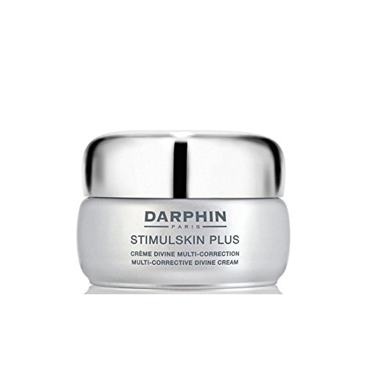 気をつけて重要な抹消Darphin Stimulskin Plus Multi-Corrective Divine Cream - Rich - ダルファンスティプラスマルチ是正神クリーム - 豊富 [並行輸入品]