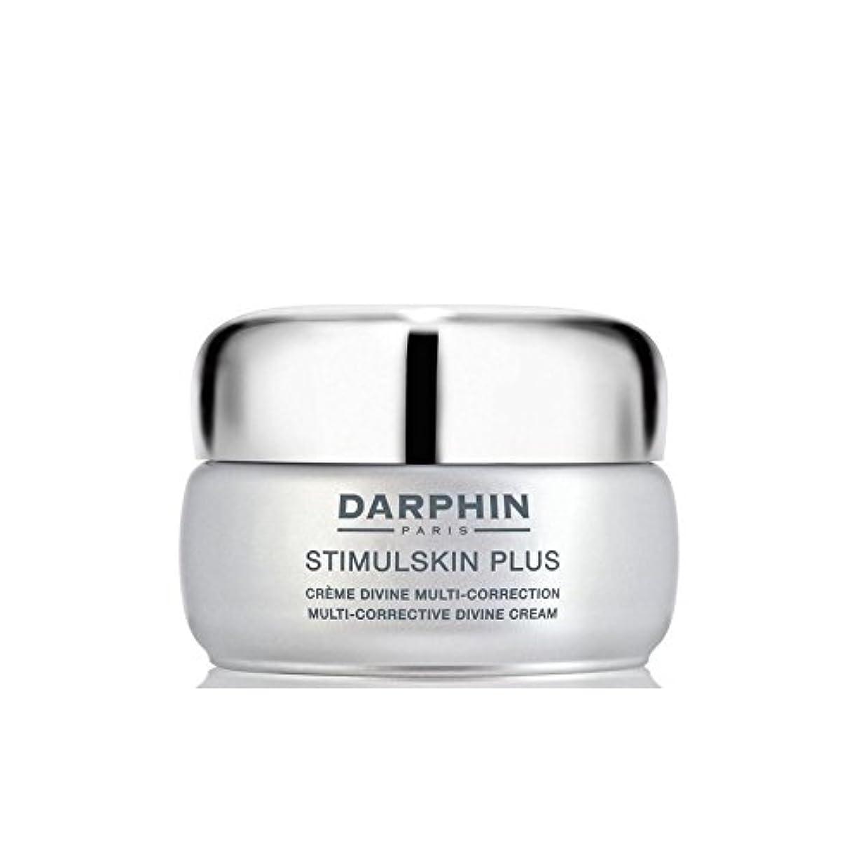 酸度なぜなら直感ダルファンスティプラスマルチ是正神クリーム - 豊富 x4 - Darphin Stimulskin Plus Multi-Corrective Divine Cream - Rich (Pack of 4) [並行輸入品]