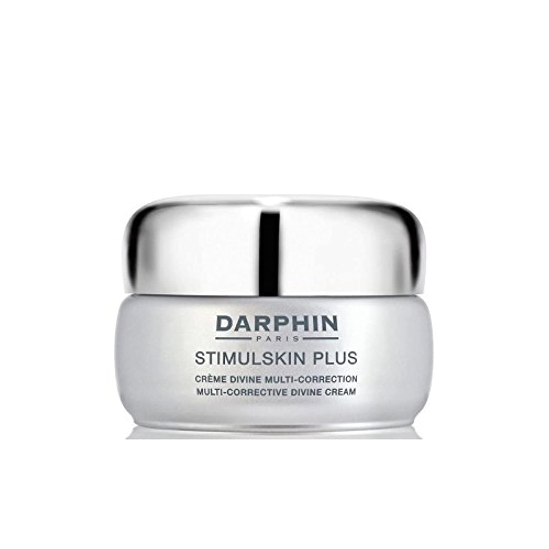 イサカ割合夜ダルファンスティプラスマルチ是正神クリーム - 豊富 x4 - Darphin Stimulskin Plus Multi-Corrective Divine Cream - Rich (Pack of 4) [並行輸入品]