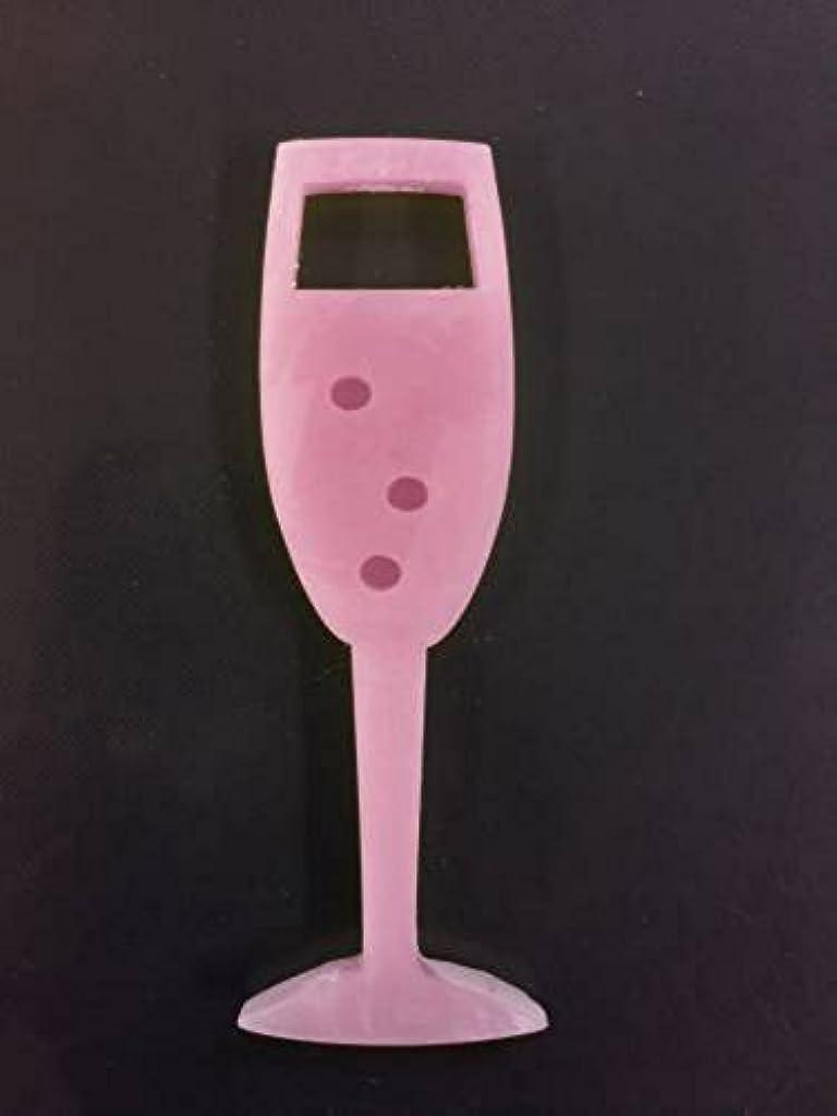 十億歌手ベットGRASSE TOKYO AROMATICWAXチャーム「シャンパングラス」(PI) ゼラニウム アロマティックワックス グラーストウキョウ