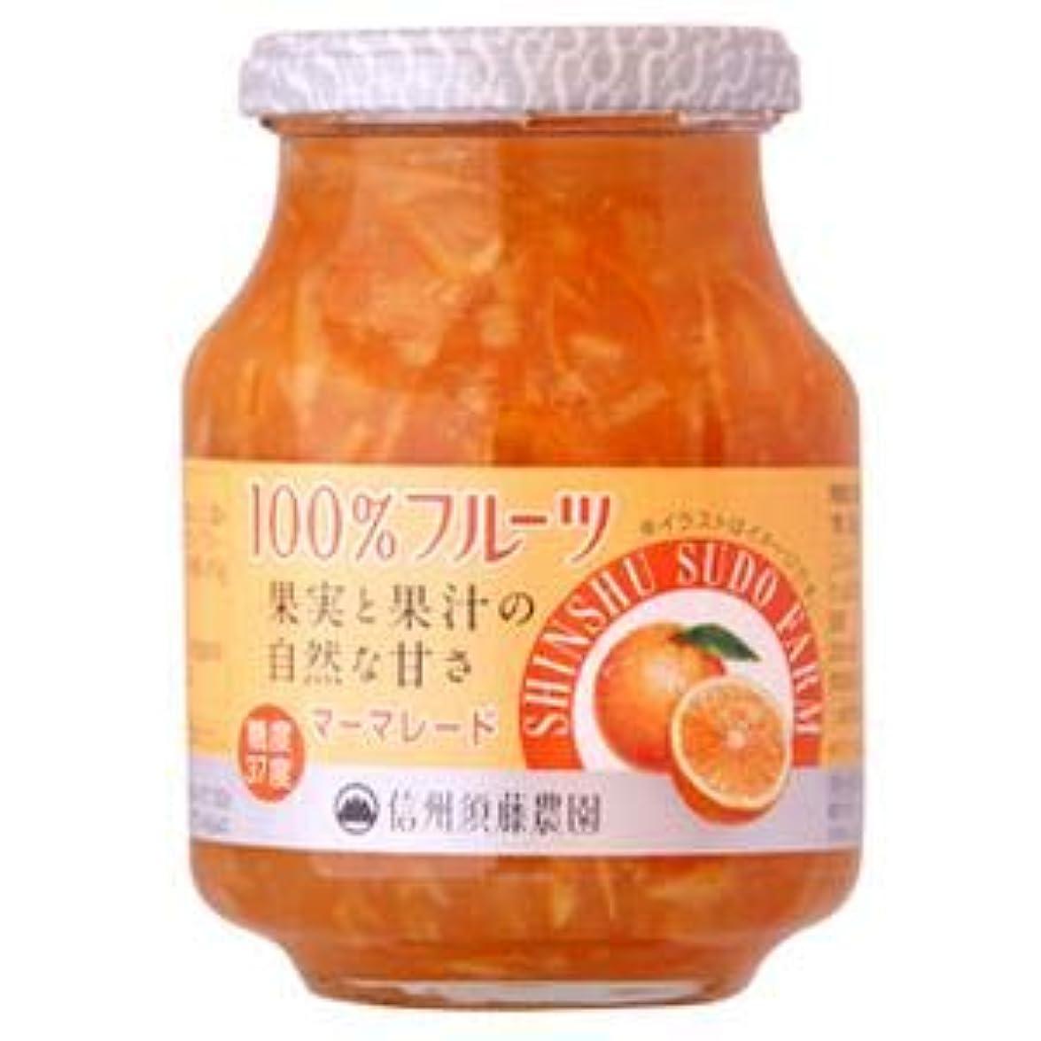 芸術的十分にギャング信州須藤農園 100%フルーツマーマレード415g