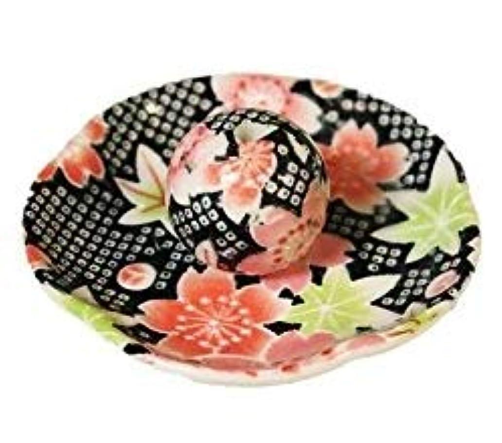 案件才能のあるディレクトリかのこ友禅 花形香皿 お香立て お香たて 日本製 ACSWEBSHOPオリジナル