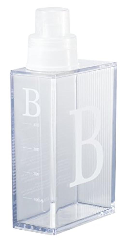 そこサワー朝食を食べるSO-Q STYLE 日本製 詰め替え用ボトル Books クリアノベルス クリア 漂白剤 600ml 16-454466