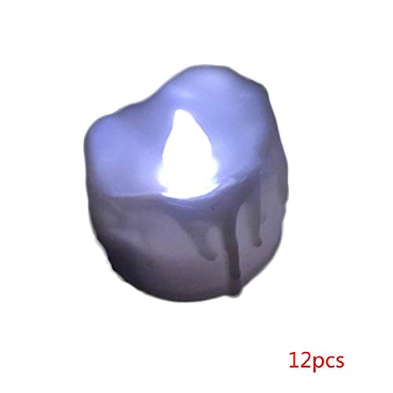 増幅する老朽化した明確なKOROWA LEDキャンドルライト リアル感 火を使わない 安全 省エネ 長持ち 便利 おしゃれ クリスマス 誕生日 室内 室外飾り インテリアライト(12個セット)