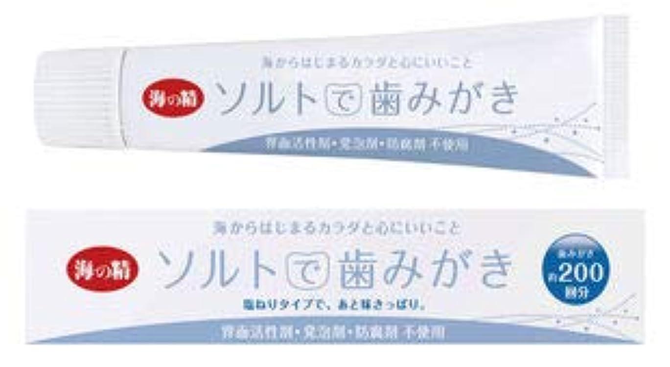 勧告二度かすれたソルトで歯みがき(ねりタイプ)60g