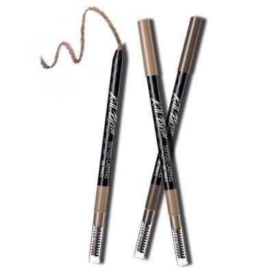 CLIO Kill Brow Tattoo-Lasting Gel Pencil (#02 Light Brown) 0.4g/クリオ キル ブロウ タトゥー ラスティング ジェル ペンシル (#02 ライトブラウン) 0.4g