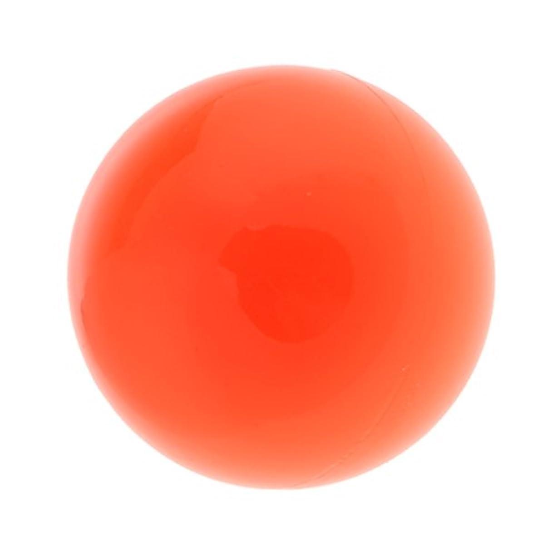 並外れて騒乱アラスカラクロスマッサージボール マッサージボール マッサージ 手のひら 足 腕 首 背中 足首 ジム ホーム 便利 オレンジ