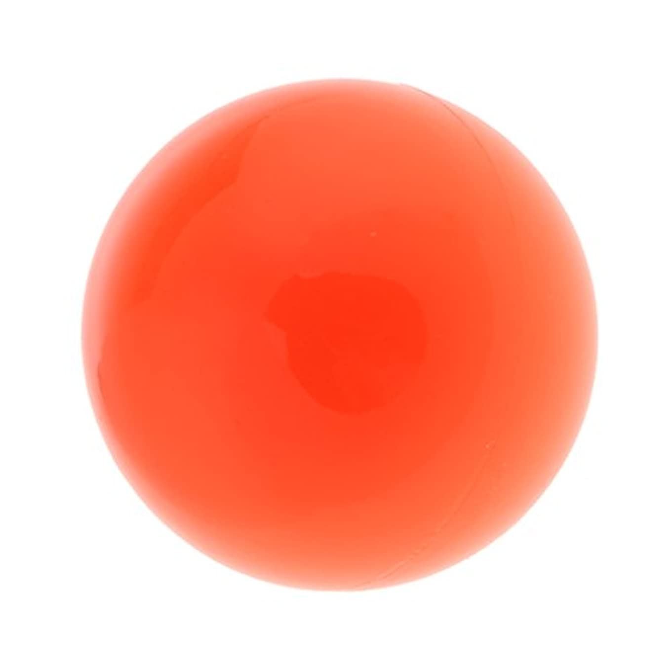 月曜民兵落ち着かないラクロスマッサージボール マッサージボール マッサージ 手のひら 足 腕 首 背中 足首 ジム ホーム 便利 オレンジ