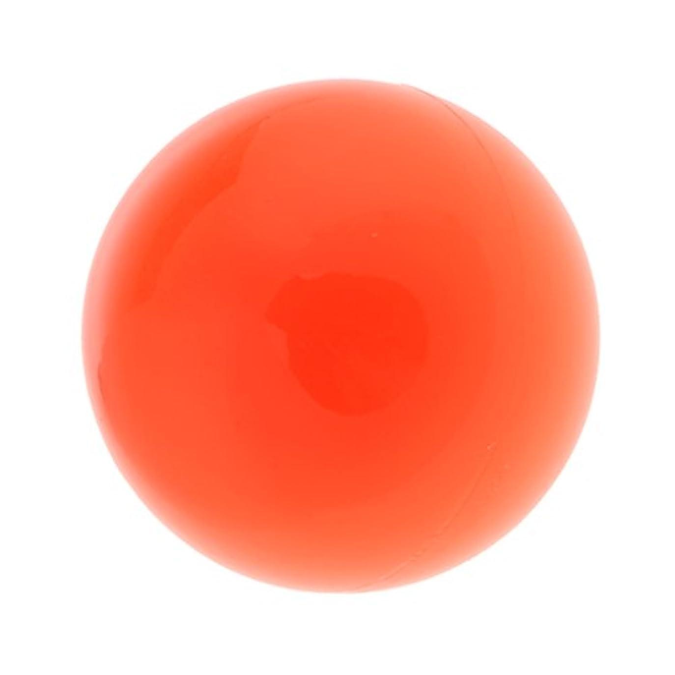 人気隠す期限ラクロスマッサージボール マッサージボール マッサージ 手のひら 足 腕 首 背中 足首 ジム ホーム 便利 オレンジ