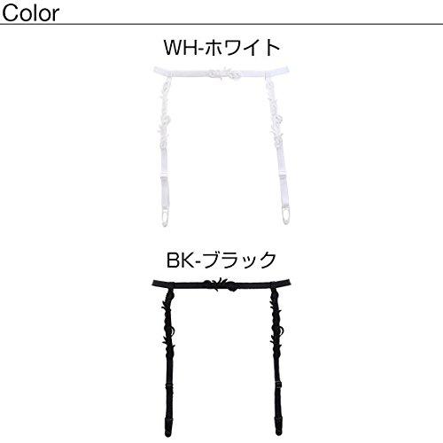 RIOCOLLECTION(リオコレクション)『ケミカルレースシンプルガーターベルト日本製』