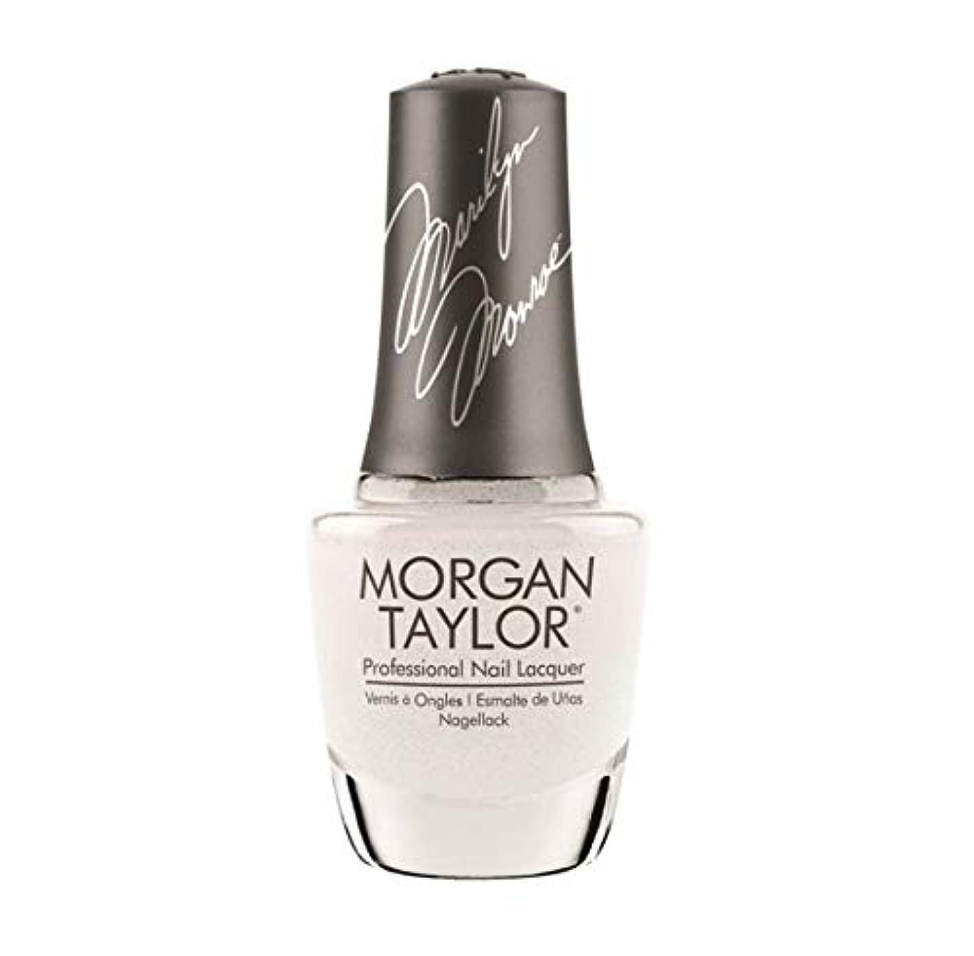 ピクニックをするリル悪名高いMorgan Taylor Nail Lacquer - Forever Marilyn Fall 2019 Collection - Some Girls Prefer Pearls - 15ml / 0.5oz