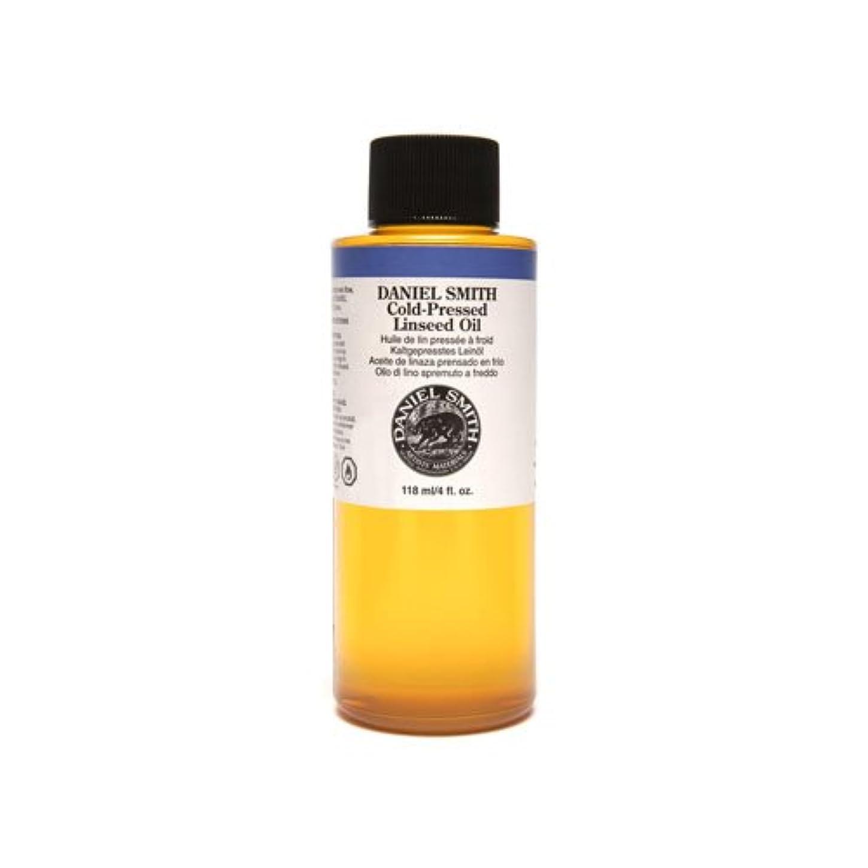 副名目上のつぼみDaniel Smith 284470009 Original Oil, Cold-Pressed Linseed Oil, 120ml