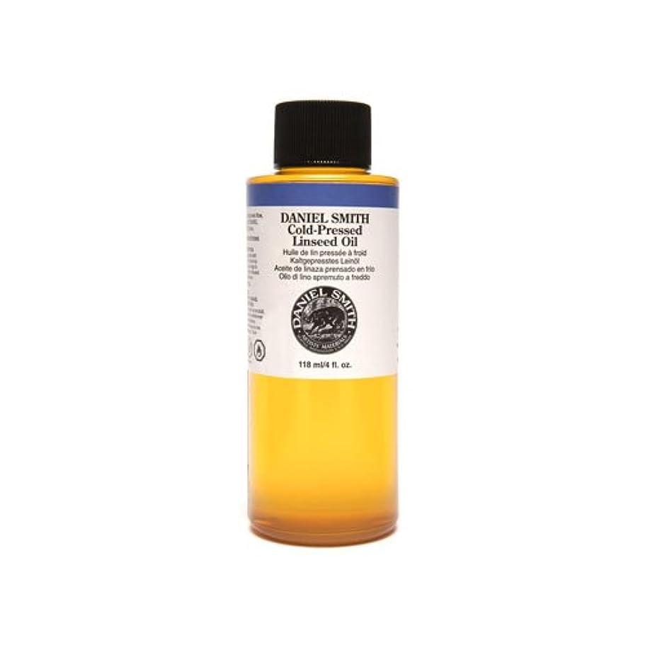 うま直立盗賊Daniel Smith 284470009 Original Oil, Cold-Pressed Linseed Oil, 120ml