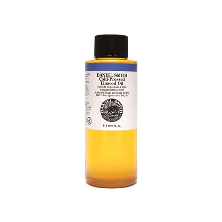 集中的な再撮りシャーロックホームズDaniel Smith 284470009 Original Oil, Cold-Pressed Linseed Oil, 120ml