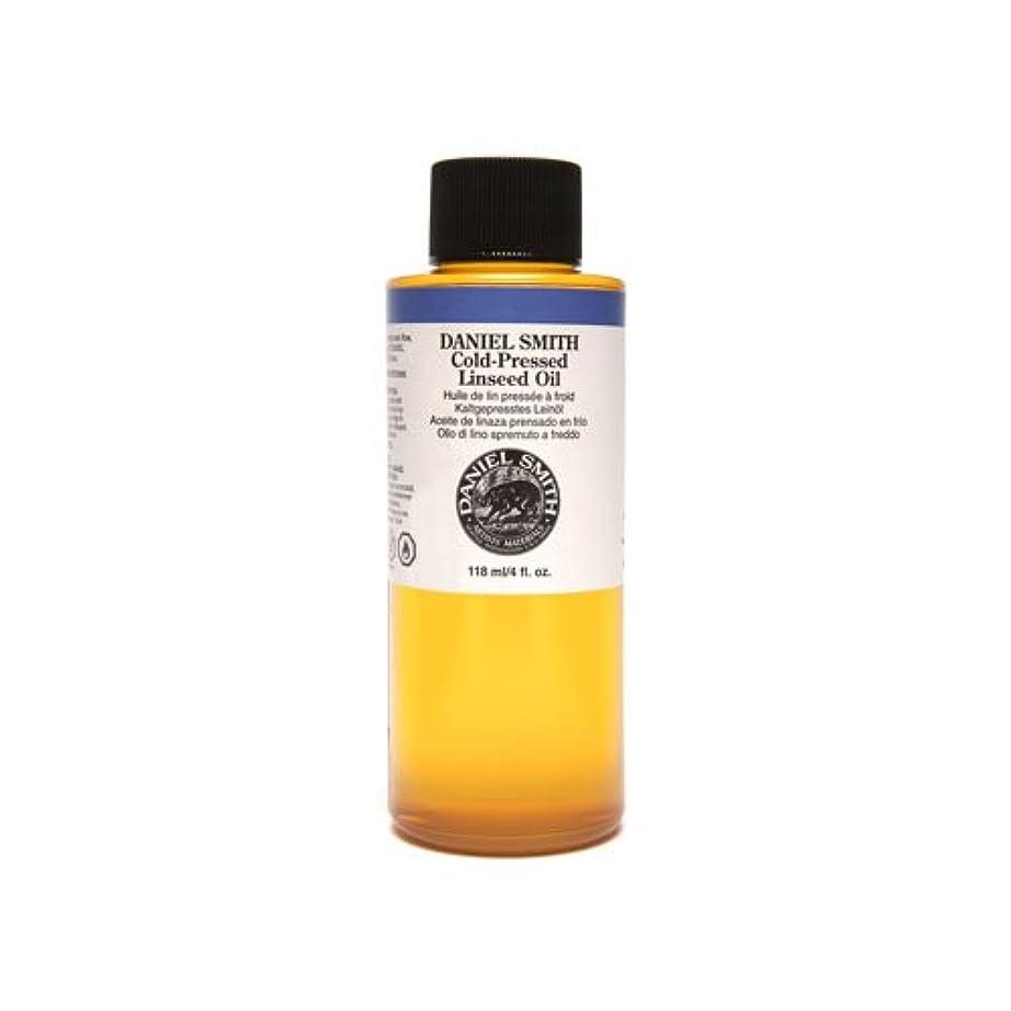 ねじれ休暇雄弁なDaniel Smith 284470009 Original Oil, Cold-Pressed Linseed Oil, 120ml