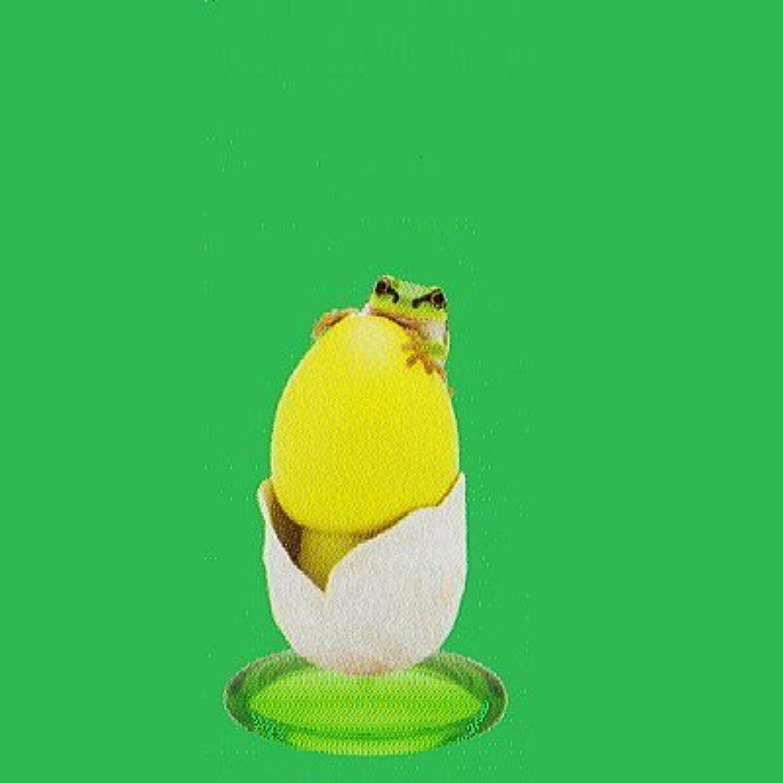 ネイチャーテクニカラーMONO PLUS キノコとアマガエル 新色 ボールチェーン&フィギュアマスコット [3.キタマゴタケ幼菌とニホンアマガエル(マスコット)](単品)