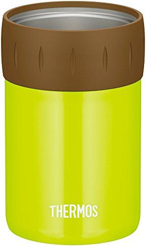 サーモス 保冷缶ホルダー 350ml缶用 ライムグリーン JCB-352 LMG
