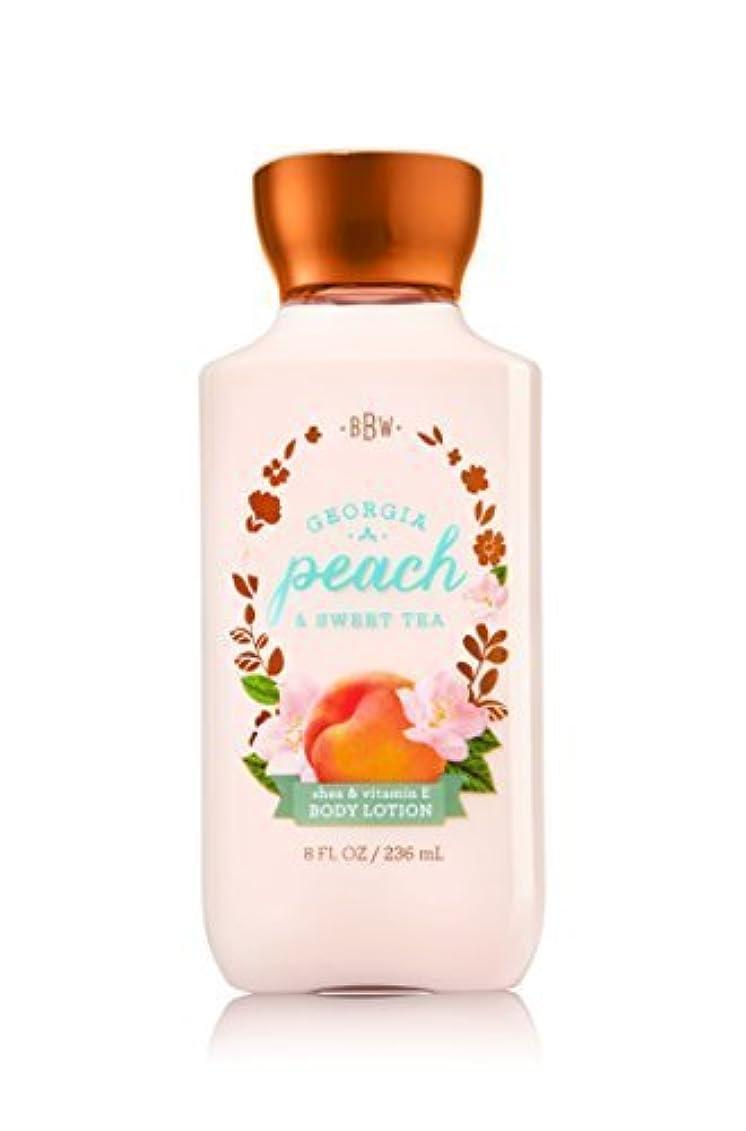 ブロンズ対人消費者Bath & Body Works Lotion Georgia Peach & Sweet Tea by Bath & Body Works [並行輸入品]