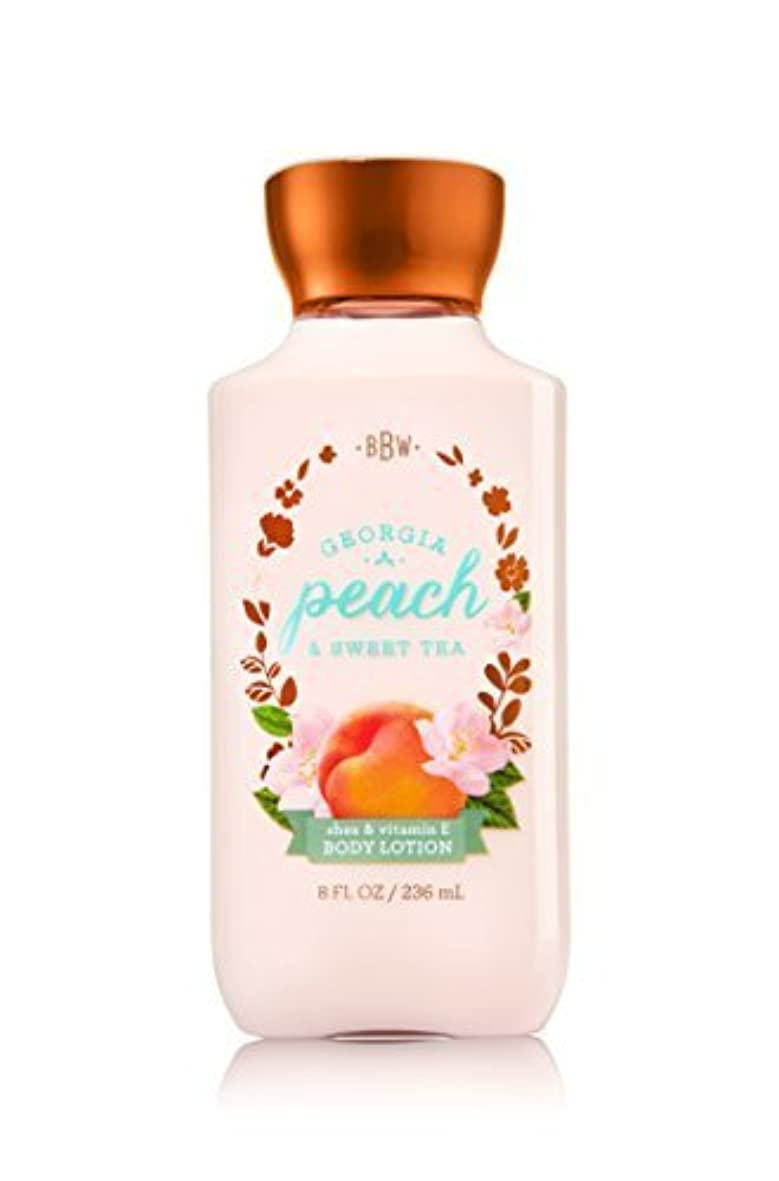 巻き戻す印象的なボンドBath & Body Works Lotion Georgia Peach & Sweet Tea by Bath & Body Works [並行輸入品]