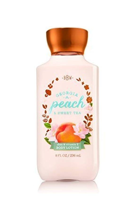 年金複雑フォーマルBath & Body Works Lotion Georgia Peach & Sweet Tea by Bath & Body Works [並行輸入品]