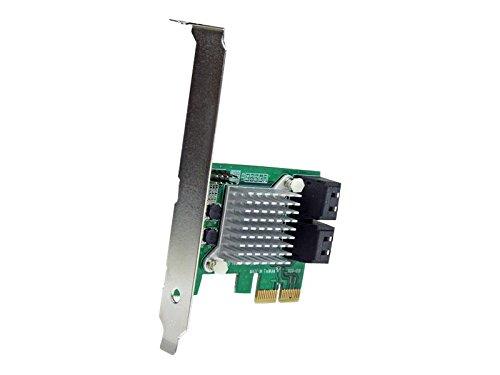 SATA 3.0 RAIDコントローラ 4ポート増設 PCIe 2.0カード SATA 3.0 6Gbps HyperDuo機能付き PEXSAT34RH