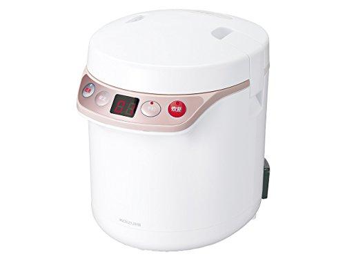 コイズミ 小型炊飯器 ライスクッカーミニ ホワイト (0.5~1.5合) KSC-1511/W