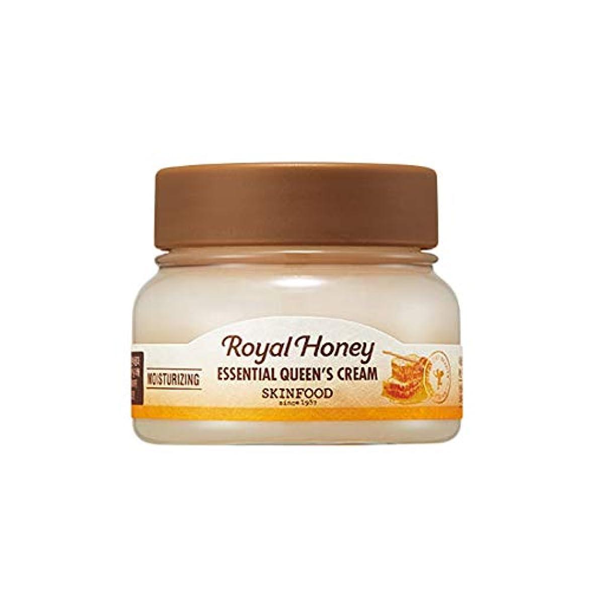 後ろ、背後、背面(部世紀大邸宅Skinfood ロイヤルハニーエッセンシャルクイーンクリーム/Royal Honey Essential Queen's Cream 62ml [並行輸入品]