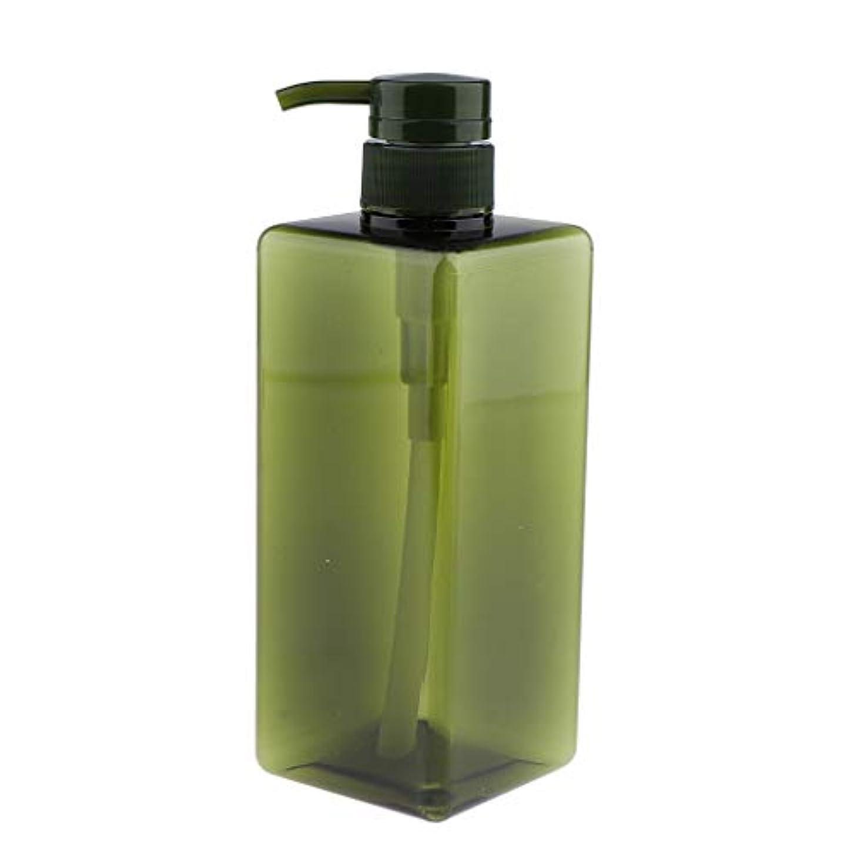 将来の援助振り返るIPOTCH シャンプーコンテナ ポンプボトル 大容量 650ml 4色選べ - グリーン