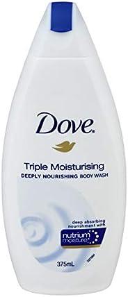 Dove Body Wash Triple Moisturising, 375ml