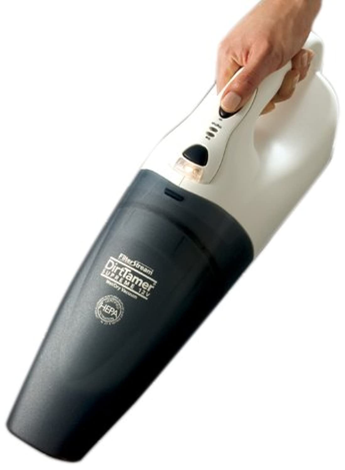DirtTamer Supreme V2400 Cordless Wet/Dry Hand Vac by FilterStream