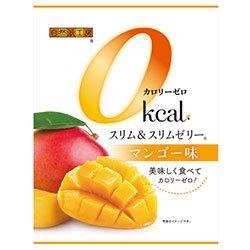 富士正食品 スリム&スリムゼリー カロリーゼロ マンゴー味 22g×7個×20袋入×(2ケース)
