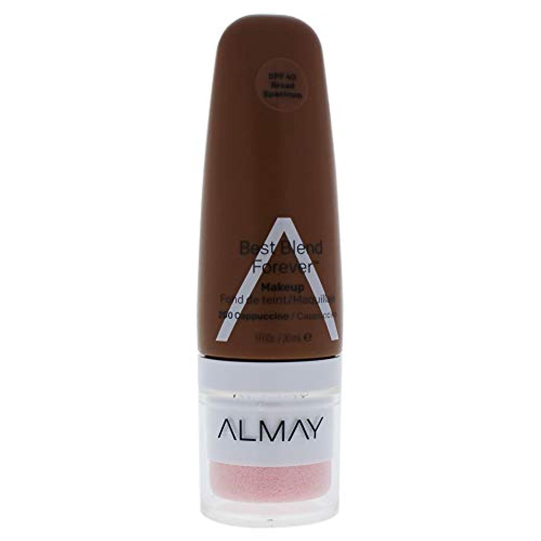 再編成する欺分布Almay Best Blend Forever Makeup, Cappuccino 200