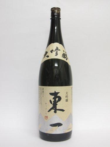 東一(あづまいち) 大吟醸 山田錦 1.8L