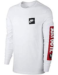 NIKE(ナイキ) メンズ 長袖 Tシャツ JDI BMPR L/S TEE シャツ ロンT プリント ビッグロゴ スポーツウェア cd9599