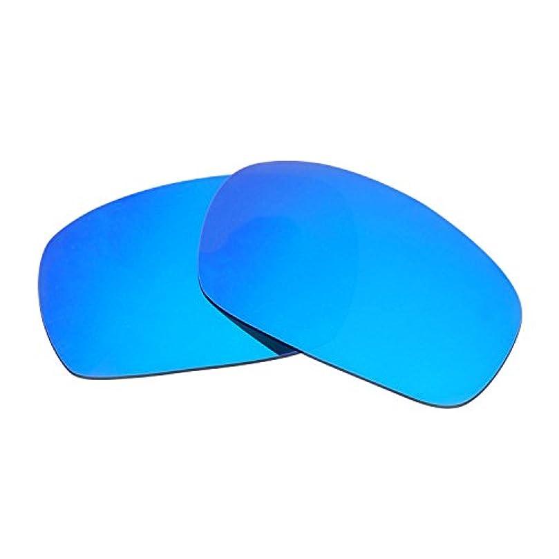 宙返りズームインする電子レンジHkuco Plus 交換用レンズ Oakley Jawbone- マルチオプション型 ブルー 偏光