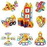子供のためのTomons 106のPCSの磁気ビルディングブロックの磁気タイル、車と置かれる磁気ブロック