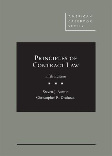 Download Principles of Contract Law (American Casebook) 1634605977