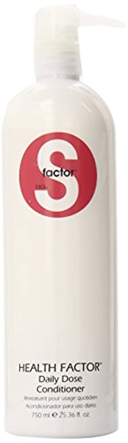工業用唇デジタルティジー Sファクターヘルスファクターデイリーコンディショナー 750ml (並行輸入品)