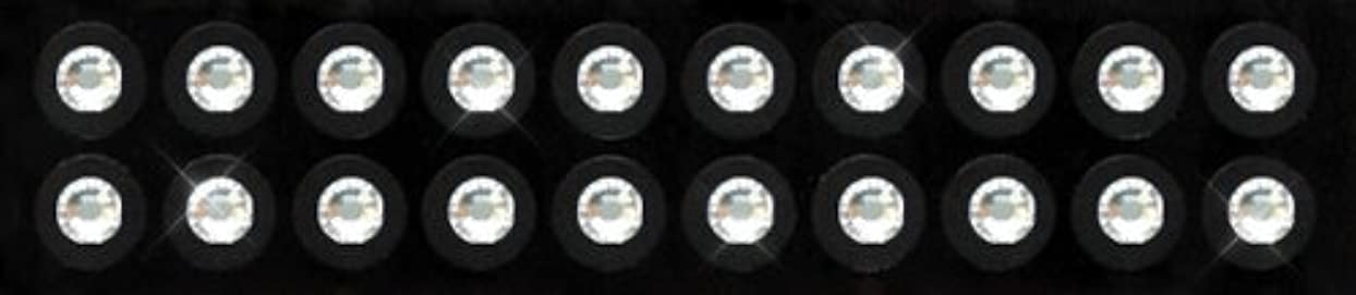 長いですクレーンスノーケルKraft Heart 耳つぼ ジュエリー ピアス 【 クリスタル (20粒入り) スワロフスキー付 チタン シール (3-SS16)】 貼るだけエステ 【 国内製造品/耳つぼ解説書付(耳つぼカウンセラー監修)】 ダイエット...