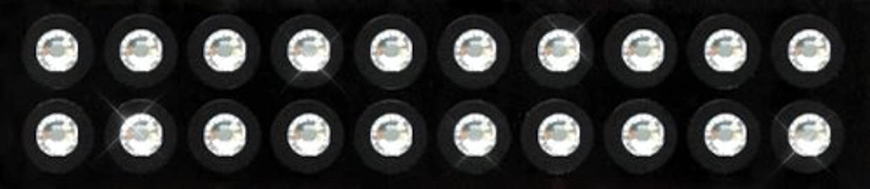 チョコレート起きている悲鳴Kraft Heart 耳つぼ ジュエリー ピアス 【 クリスタル (20粒入り) スワロフスキー付 チタン シール (3-SS16)】 貼るだけエステ 【 国内製造品/耳つぼ解説書付(耳つぼカウンセラー監修)】 ダイエット...
