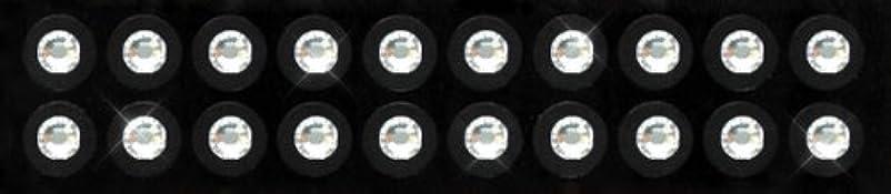 主眠り罹患率Kraft Heart 耳つぼ ジュエリー ピアス 【 クリスタル (20粒入り) スワロフスキー付 チタン シール (3-SS16)】 貼るだけエステ 【 国内製造品/耳つぼ解説書付(耳つぼカウンセラー監修)】 ダイエット...