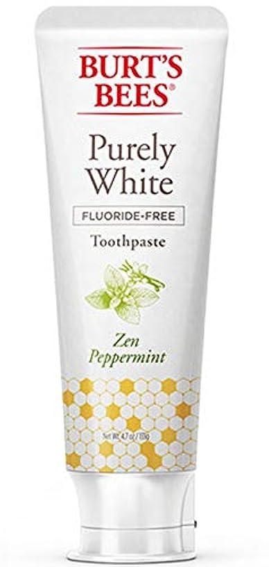 お誕生日他に流出バーツビーズ Burt's Bees ピュアホワイト 歯磨き粉 ホワイトニング オーガニック ペパーミント エコ 133g