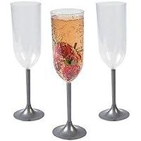 Eternalガラス7オンスシャンパンガラス–usubuki–ブラックマット