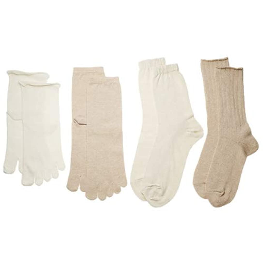 セブン願望世界記録のギネスブックコクーンフィット イノセントシリーズ 4足重ね履き靴下