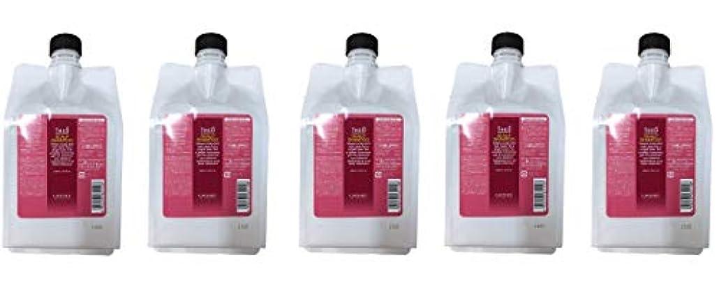 受粉する食物パラダイス【5個セット】ルベル ジオ スキャルプ シャンプー 1000ml レフィル 赤パッケージ