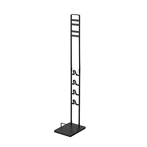 RoomClip商品情報 - 山崎実業 コードレスクリーナースタンド タワー V10 V8 V7 V6 シリーズ対応 ブラック 約22X29X127cm tower 3541