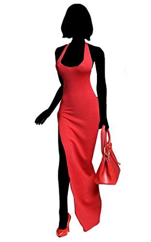 フィメール・アウトフィット/ ドレス&ハンドバッグ 1/6 セット レッド C016-B